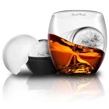Verre « ON THE ROCKS » - avec boule de glace