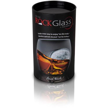 Verre « ON THE ROCKS » - avec boule de glace 2