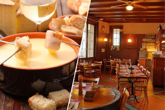 Menu fondue pour deux - Avec entrée, fondue neuchâteloise et dessert. À Neuchâtel 1 [article_picture_small]