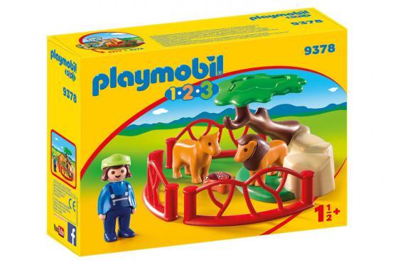 Löwengehege - Playmobil® 1.2.3