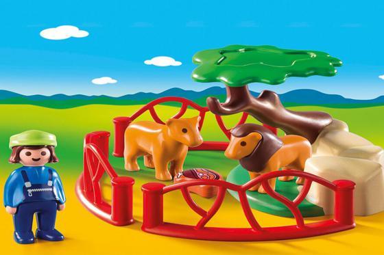 Löwengehege - Playmobil® 1.2.3 1