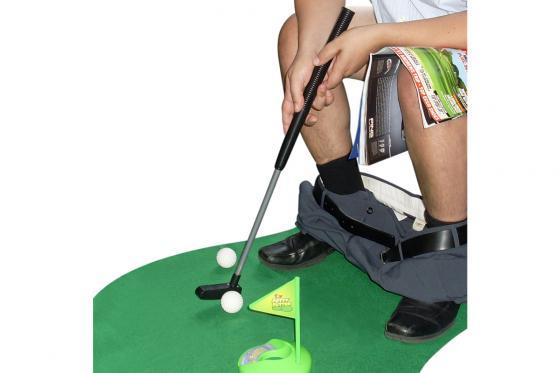 Toilet Golf Set - Zeitvertreib auf der Toilette