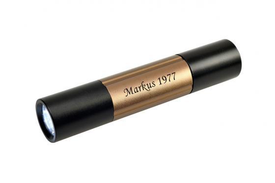 Taschenlampe - mit Werkzeugtools, personalisierbar