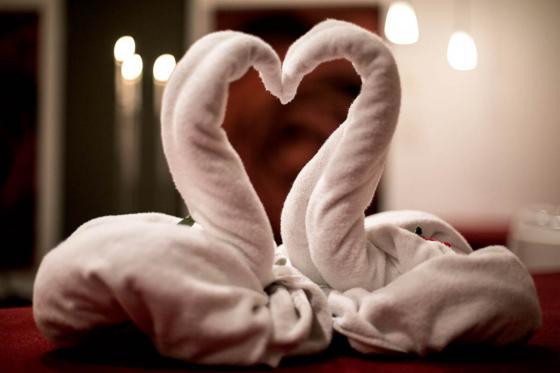 Romantische Übernachtung in der
