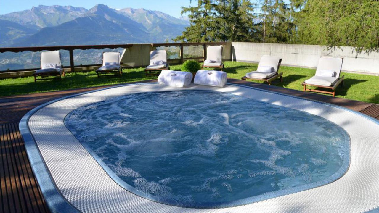 day spa fondue veysonnaz avec fondue au fromage cadeaux24. Black Bedroom Furniture Sets. Home Design Ideas