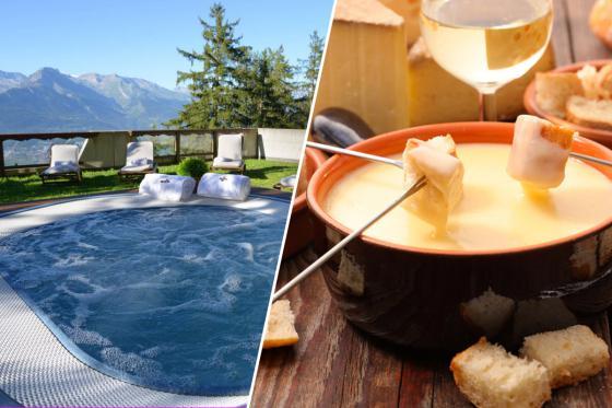Séjour gourmand à Veysonnaz - nuitée, accès à l'espace wellness et fondue au fromage  [article_picture_small]