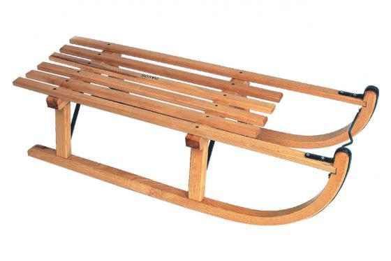 Davoser Schlitten - 90cm, bis 115kg belastbar