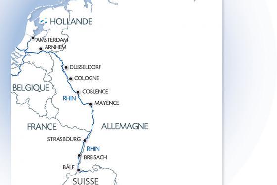D'Amsterdam à Bâle - Croisière sur le Rhin de 9 jours pour 1 personne en pension complète 9 [article_picture_small]