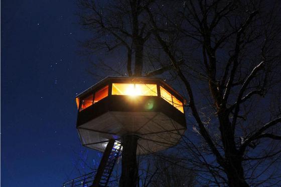 Nuit dans une cabane perchée - pour 2 personnes petit déjeuner inclus  [article_picture_small]