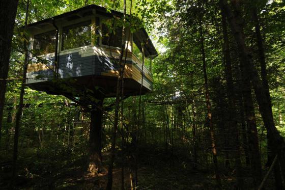 Nuit dans une cabane perchée - pour 2 personnes petit déjeuner inclus 2 [article_picture_small]