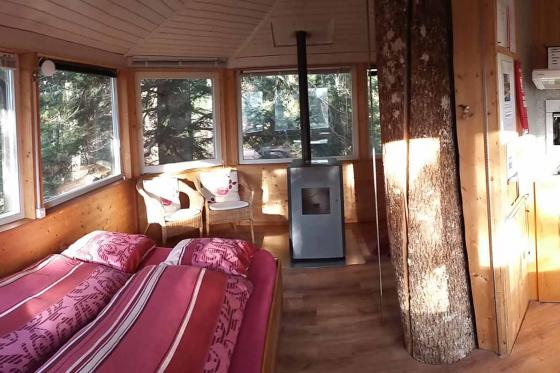 Nuit dans une cabane perchée - pour 2 personnes petit déjeuner inclus 5 [article_picture_small]
