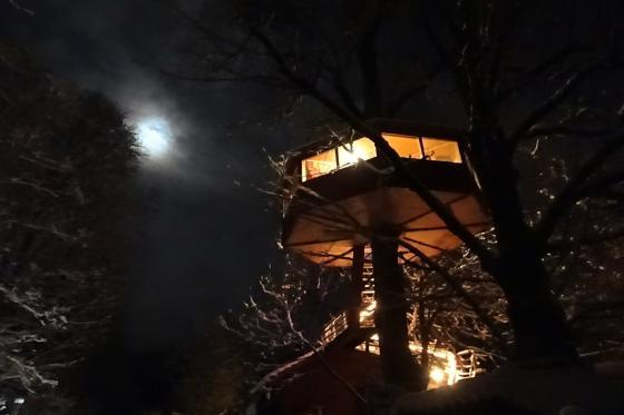 Nuit dans une cabane perchée - pour 2 personnes petit déjeuner inclus 6 [article_picture_small]