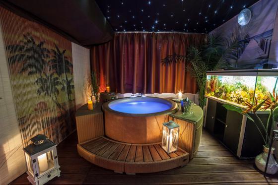 Spa privatif romantique - Pour 2 personnes - le soir 3 [article_picture_small]