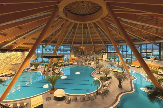 4* Hotel Wellness Übernachtung - inkl. Eintritt ins Aquabasilea und 3-Gang-Menü  [article_picture_small]