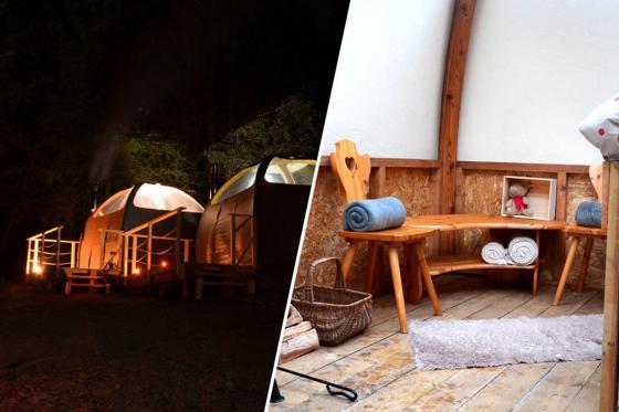 Nuit insolite en altidôme -  avec toit panoramique, pour 2 personnes, petit déjeuner compris  [article_picture_small]