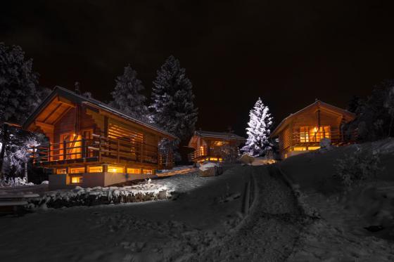 Übernachtung im Chalet -  Für 2 Personen mit 1h privater Whirlpool / Nebensaison 7 [article_picture_small]