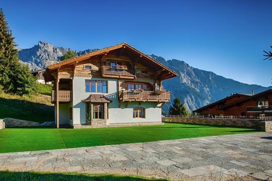 Séjour romantique au Chalet de Kalbermatten - Accès libre aux Bains d'Ovronnaz + massage + repas + champagne   [article_picture_small]