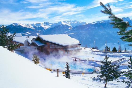 Séjour romantique au Chalet de Kalbermatten - Accès libre aux Bains d'Ovronnaz + massage + repas + champagne  2 [article_picture_small]