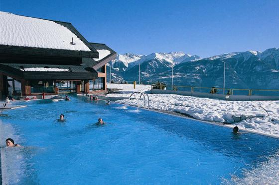 Séjour romantique au Chalet de Kalbermatten - Accès libre aux Bains d'Ovronnaz + massage + repas + champagne  3 [article_picture_small]