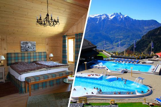 Séjour romantique au Chalet de Kalbermatten - Accès libre aux Bains d'Ovronnaz + massage + repas + champagne  5 [article_picture_small]