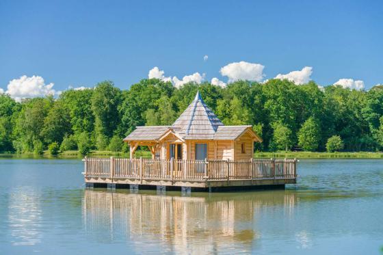 Cabane romantique sur le lac - une nuit avec spa, petit déjeuner et repas du soir  [article_picture_small]