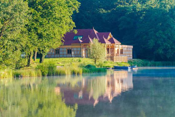 Cabane romantique sur le lac - une nuit avec spa, petit déjeuner et repas du soir 1 [article_picture_small]