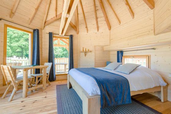 Cabane romantique sur le lac - une nuit avec spa, petit déjeuner et repas du soir 11 [article_picture_small]