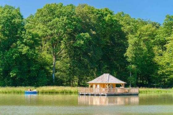 Cabane romantique sur le lac - une nuit avec spa, petit déjeuner et repas du soir 15 [article_picture_small]