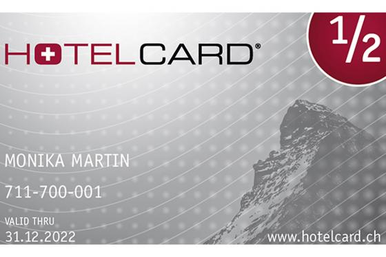 Hotelcard - das Halbtax für Hotels / 1 Jahreskarte  [article_picture_small]