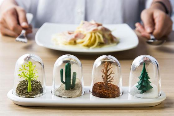 Pots à épices - Quatre saisons