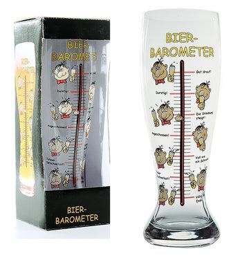 Verre à bière géant - Baromètre, 1.5 litres