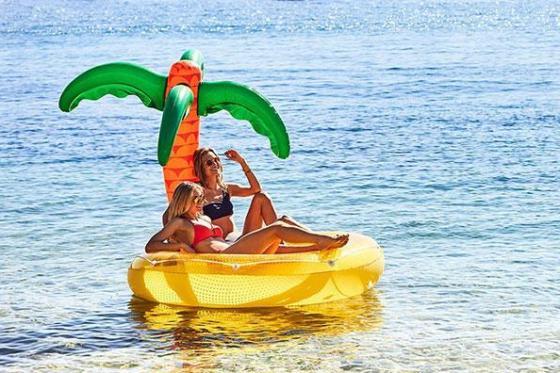 Schwimminsel Tropical - für zwei Personen