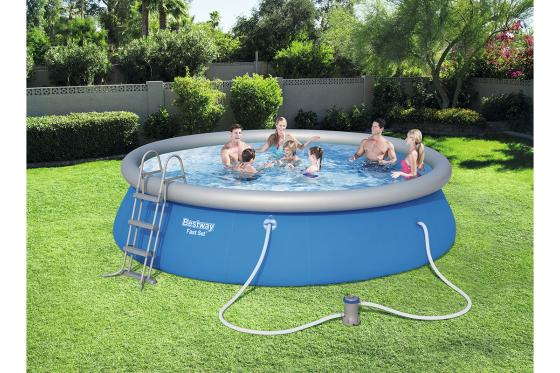 Swimming Pool von Bestway - Komplett-Set - Ø 457cm / H: 107cm