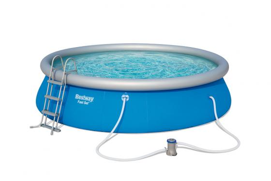 Swimming Pool von Bestway - Komplett-Set - Ø 457cm / H: 107cm 1