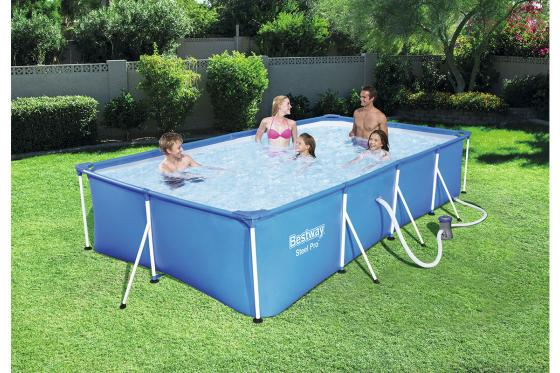 Swimming Pool von Bestway - Komplett-Set - 400x211x81cm