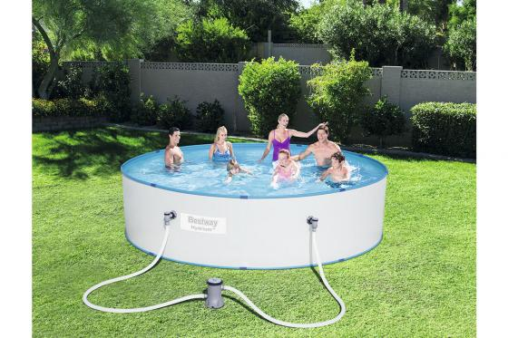 Swimming Pool von Bestway - Komplett-Set - Ø 330cm / H: 84cm