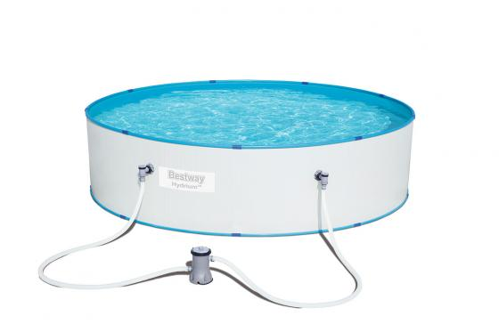 Swimming Pool von Bestway - Komplett-Set - Ø 330cm / H: 84cm  1