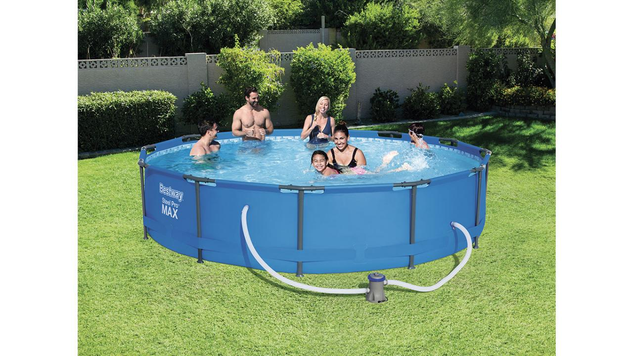 piscine de bestway. Black Bedroom Furniture Sets. Home Design Ideas