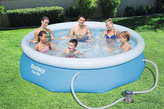 Swimming Pool von Bestway - Komplett-Set - Ø 274cm / H: 76cm