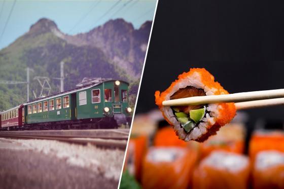 Train Sushi - Sushis et boissons pour quatre personnes  [article_picture_small]