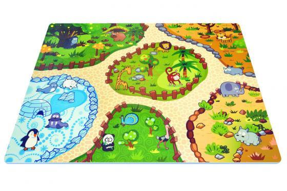 Interaktive Puzzlematte - 3D Spielteppich Animal Land