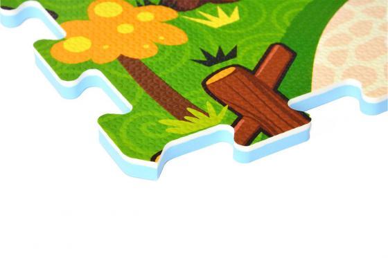 Interaktive Puzzlematte - 3D Spielteppich Animal Land 2