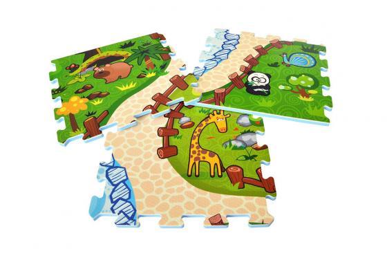 Interaktive Puzzlematte - 3D Spielteppich Animal Land 3