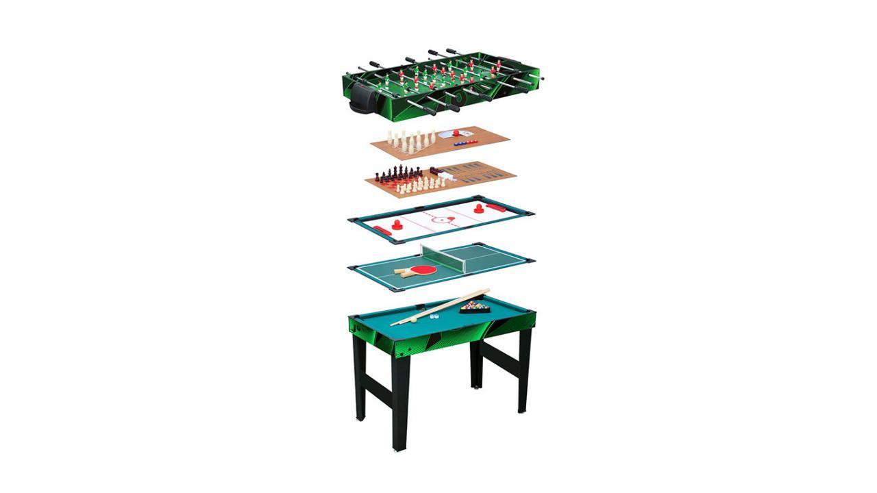 table de jeu multifonction 10 possibilit s de jeux. Black Bedroom Furniture Sets. Home Design Ideas