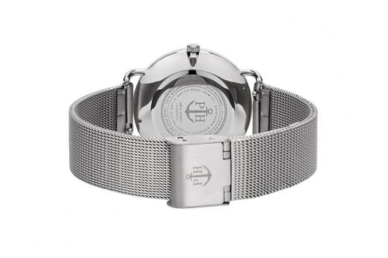 Paul Hewitt - Mermaid White Sand Stainless Steel Mesh Strap - 33mm 1