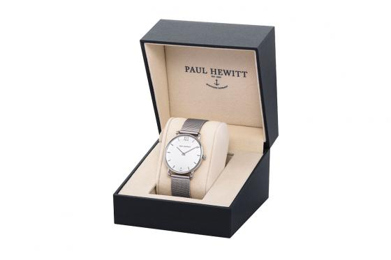 Paul Hewitt - Mermaid White Sand Stainless Steel Mesh Strap - 33mm 3
