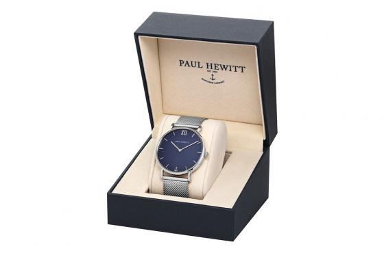 Paul Hewitt - Sailor Blue Lagoon Silv Metal Silv - 36mm 3