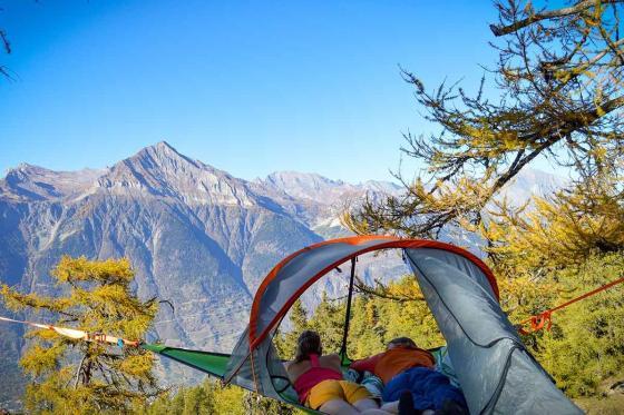 Nuit suspendue dans les arbres - pour 2 personnes, petit déjeuner compris  [article_picture_small]