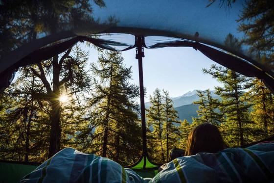 Nuit suspendue dans les arbres - pour 2 personnes, petit déjeuner compris 4 [article_picture_small]