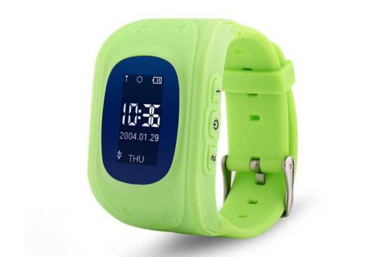 GPS Tracker grün - für Kinder